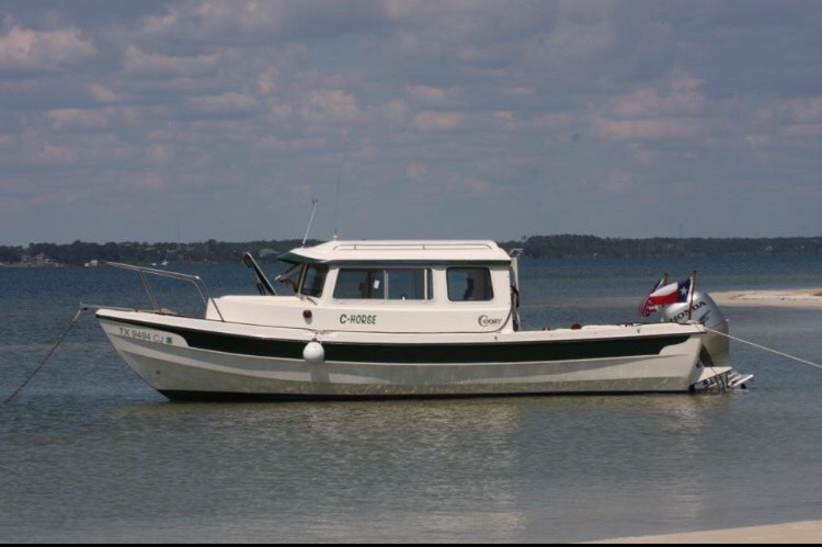 Our 22' Cruiser Boat | C-Dory Boats