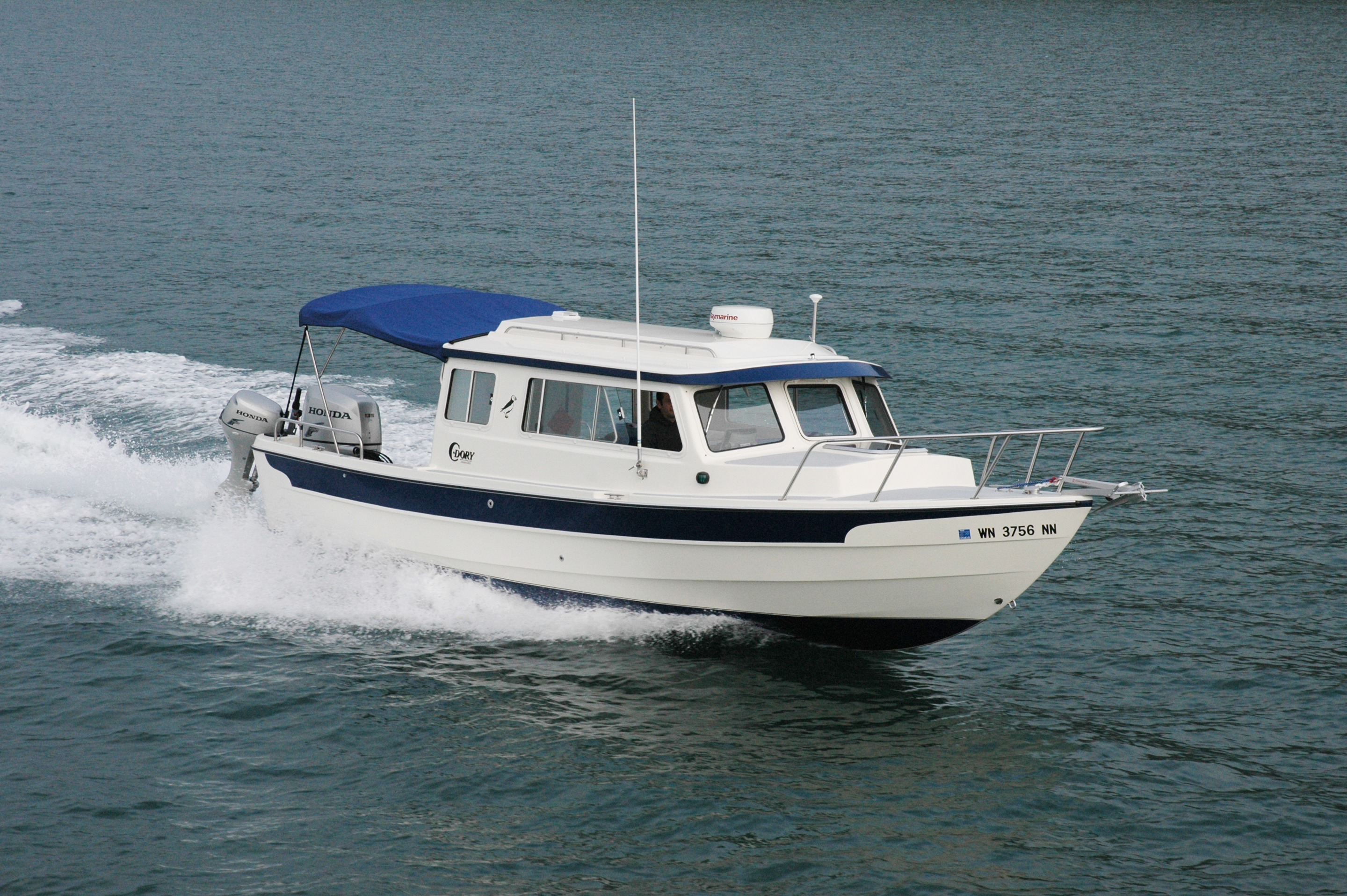 Our 25' Cruiser Boat | C-Dory Boats