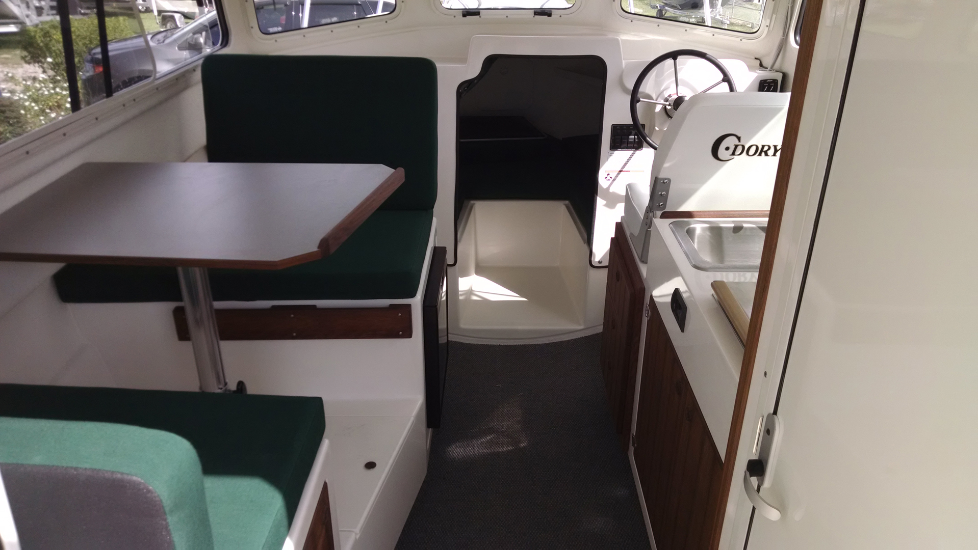 Our 25' Cruiser Boat   C-Dory Boats